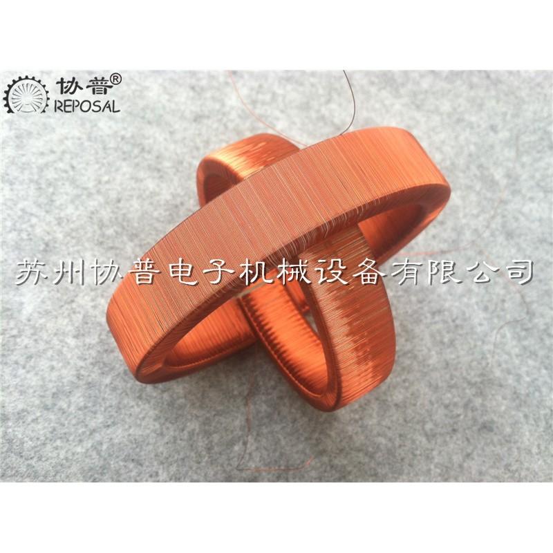 Open Roche coil winding machine