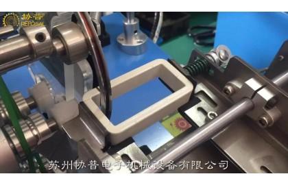 Enclosed rectangular transformer winding machine-thin wire reciprocating